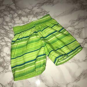 Baby Swim Trunks: Size 12M